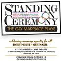 Standing On Ceremony: The Gay Marriage Plays by Kaufman, LaBute & More to Play Off-Broadway This Fall