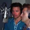 Photo Flash: SILENCE! Cast in the Recording Studio