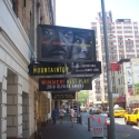 Photo Flash: THE MOUNTAINTOP Marquee Going Up!