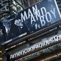 UP ON THE MARQUEE: MAN AND BOY!