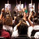 BWW TV: Samuel L. Jackson & Angela Bassett Talk 'MOUNTAINTOP' at Brooklyn High School of the Arts