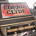 UP ON THE MARQUEE: BONNIE & CLYDE!