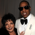Photo Flash: Jay-Z Meets with Liza Minnelli at NYC Concert!