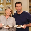 Photo Flash: Hugh Jackman Visits Martha Stewart!