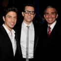 Photo Flash: PRISCILLA's Nick Adams, Scott Mauro at Fashion Week