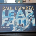 UP ON THE MARQUEE: LEAP OF FAITH!