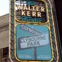 UP ON THE MARQUEE: CLYBOURNE PARK!