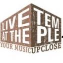 Civic Center Announces LIVE AT THE TEMPLE Concert Series