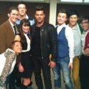 Twitter Watch: Ricky Martin- First Day at GLEE!