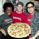 Photo Flash: Hunter Parrish, Lindsay Mendez, et al. Gather for Two Boots's GODSPELL- Inspired Pizza