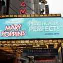 UP ON THE MARQUEE: New MARY POPPINS LED Marquee!