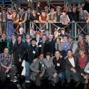 Photo Flash: NEWSIES Movie Cast Visits Paper Mill Playhouse for Fan Day!