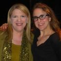 Photo Flash: Lisa Lampanelli Visits SILENCE! THE MUSICAL