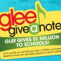 GLEE Launches 'Give a Note' Campaign