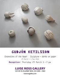 Luise Ross Gallery Presents Gudjon Ketilsson, 3/29-5/5