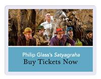 Philip Glass's Satyagraha Returns to the Met 11/4