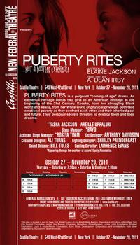 New-Federal-Theatres-Premiere-of-Puberty-Rites-Begins-Tonight-20010101