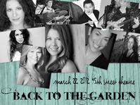 45th Street Presents BACK TO THE GARDEN with Carey Anderson, Debra Barsha, Melissa Hammans, More, 3/22
