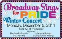 BROADWAY SINGS FOR PRIDE: Diva Edition Held at Bamboo 52 11/28