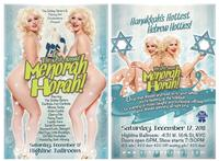 The Schlep Sisters & Thirsty Girl Prod Present 5th Annual MENORAH HORAH
