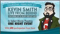Kevin Smith: Live From Behind Hits Movie Theaters Nationwide 2/2/12