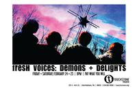 Fresh Voices: Demons and Delights Takes the Stage at Touchstone Theatre