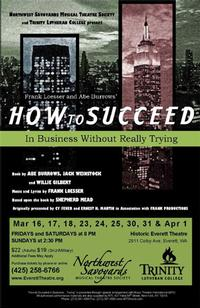 Northwest Savoyards and Trinity Lutheran College Present HOW TO SUCCEED