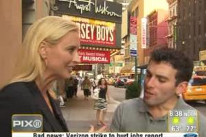 STAGE TUBE: JERSEY BOYS Featured on CURTAIN UP!