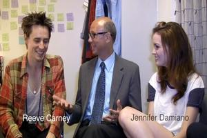 BWW TV: BroadwayWorld Introduces First Talk Show - BACKSTAGE WITH RICHARD RIDGE; Launches with Carney, Damiano