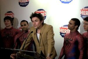 STAGE TUBE: Reeve Carney Announces SPIDER-MAN'S Everyday Heroes Initiative