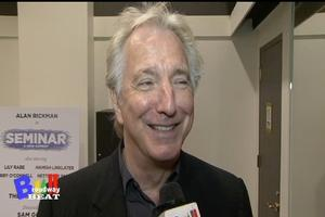 BWW TV: Meet Alan Rickman and the Cast of SEMINAR!