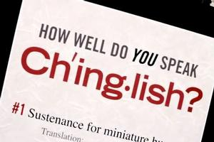 STAGE TUBE: How Well Do You Speak CHINGLISH?