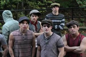 STAGE TUBE: Cast of NEWSIES Thanks the Fans!
