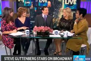 STAGE TUBE: RELATIVELY SPEAKING's Steve Guttenberg Visits NEW YORK LIVE