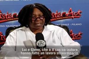STAGE TUBE: Whoopi Goldberg on SISTER ACT Milan!