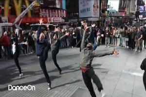 STAGE TUBE: WEST SIDE STORY Flash Mob Hits NYC!