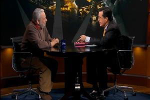 STAGE TUBE: Stephen Sondheim Returns to The Colbert Report!