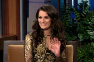 STAGE TUBE: Lea Michele Visits TONIGHT SHOW