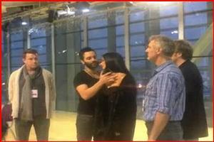 STAGE TUBE: Lloyd Webber Visits Royal Variety PHANTOM Rehearsal