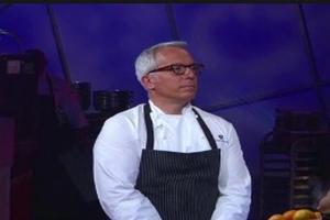 STAGE TUBE: Geoffrey Zakarian Wins Food Network's NEXT IRON CHEF