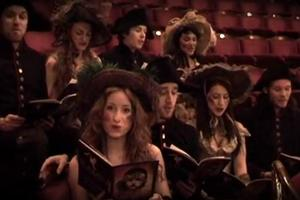 STAGE TUBE: LES MIS Cast Spoofs '12 Days of Christmas'