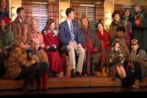 BWW TV: WHITE CHRISTMAS in Performance at Paper Mill Playhouse!