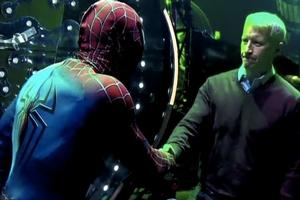 STAGE TUBE: SPIDER-MAN Saves Anderson Cooper on New Year's Eve!