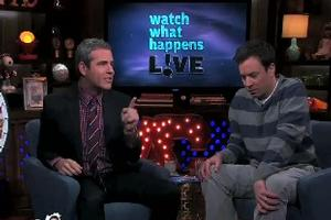 STAGE TUBE: Jimmy Fallon Appears on Bravo's WATCH WHAT HAPPENS LIVE