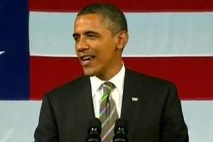STAGE TUBE: President Obama Croons Al Green at His Apollo Theater Debut