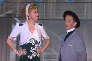 STAGE TUBE: Joel Grey & Sutton Foster Perform 'Friendship' on The Rosie Show!
