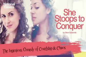 STAGE TUBE: National Theatre Live - SHE STOOPS TO CONQUER Preview!