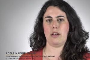 STAGE TUBE: I AM THEATRE Project - Adele Nadine Traub