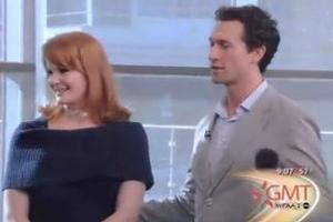 STAGE TUBE: Aaron Lazar & Kate Baldwin Sing GIANT!