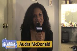 STAGE TUBE: Audra McDonald Talks Broadway Impact & PORGY & BESS to Givenik.com